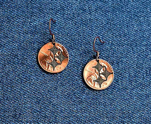Steeler Earrings