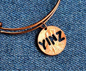 Yinz Cut Penny Bangle