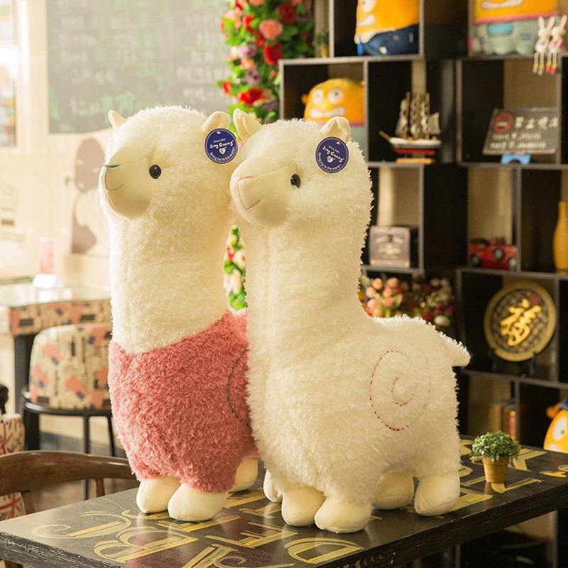 Cute Alpaca Doll - MonkeyPiggy