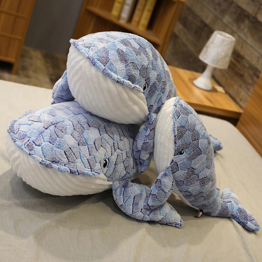Giant Whale Plush - MonkeyPiggy
