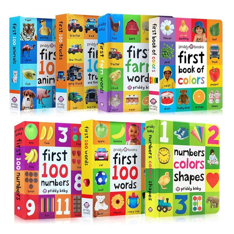 First 100 Learning Books - MonkeyPiggy