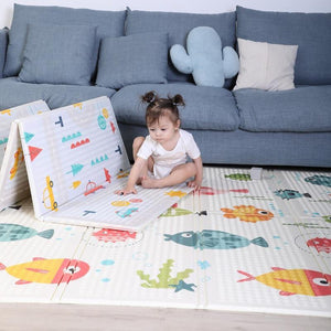 Double-sided Baby Play Mat - MonkeyPiggy
