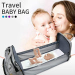 Travel Diaper Changing Backpack with Bed - MonkeyPiggy