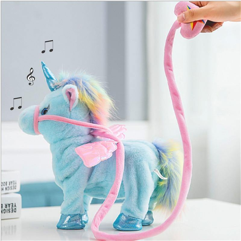 Walking Unicorn Plush - MonkeyPiggy