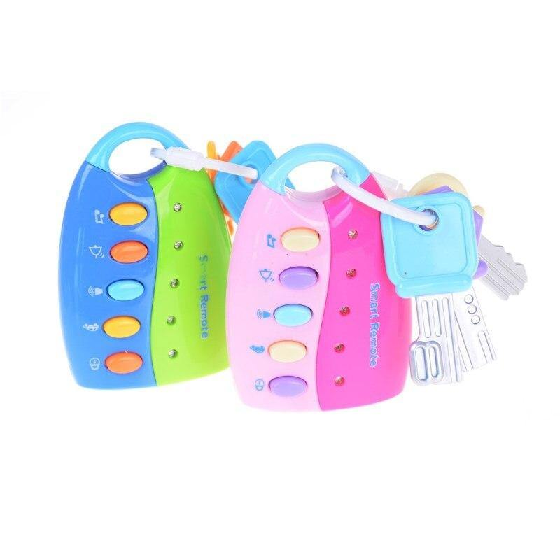 Baby Musical Car Key with Teether - MonkeyPiggy