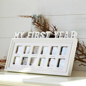 """MY FIRST YEAR"" Growing Memory - MonkeyPiggy"