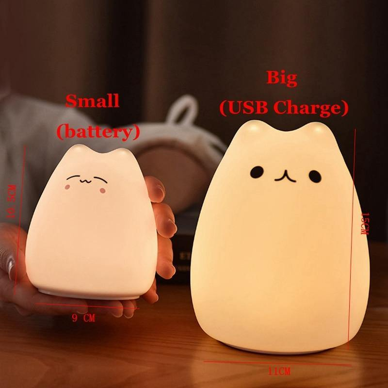 Cute Night Light - MonkeyPiggy