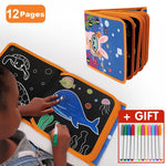 Repeatable Painting Blackboard Book - MonkeyPiggy