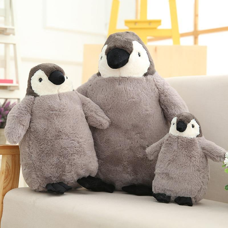 Penguin Plush Doll - MonkeyPiggy