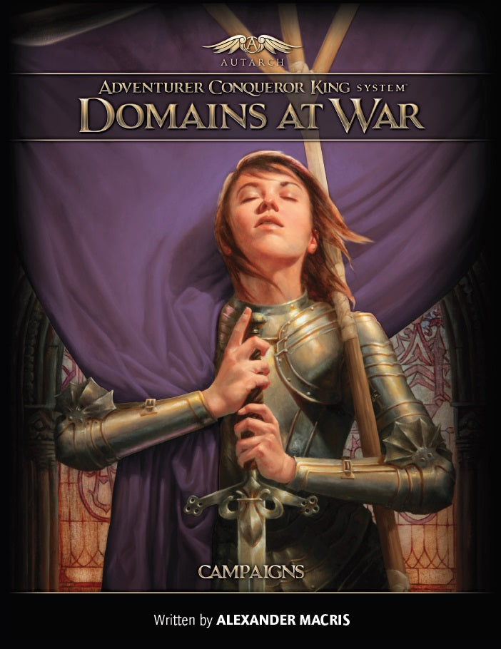 ACKS Domains at War: Campaigns (softcover)