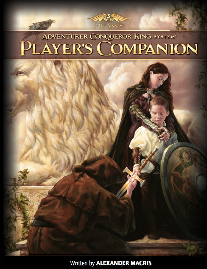 ACKS Player's Companion (hardcover)