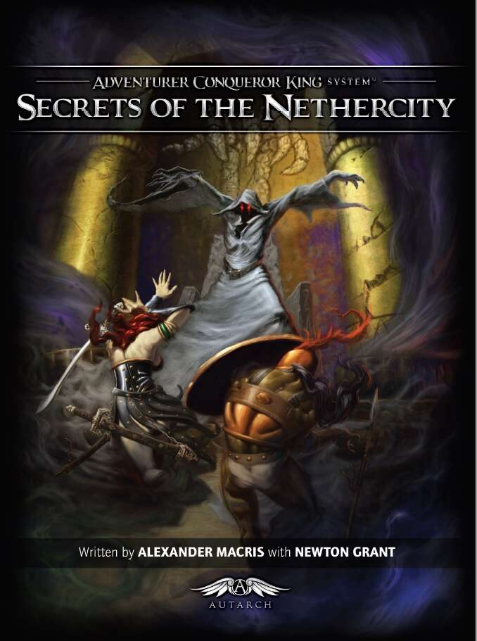 AX2 Secrets of the Nethercity (softcover)