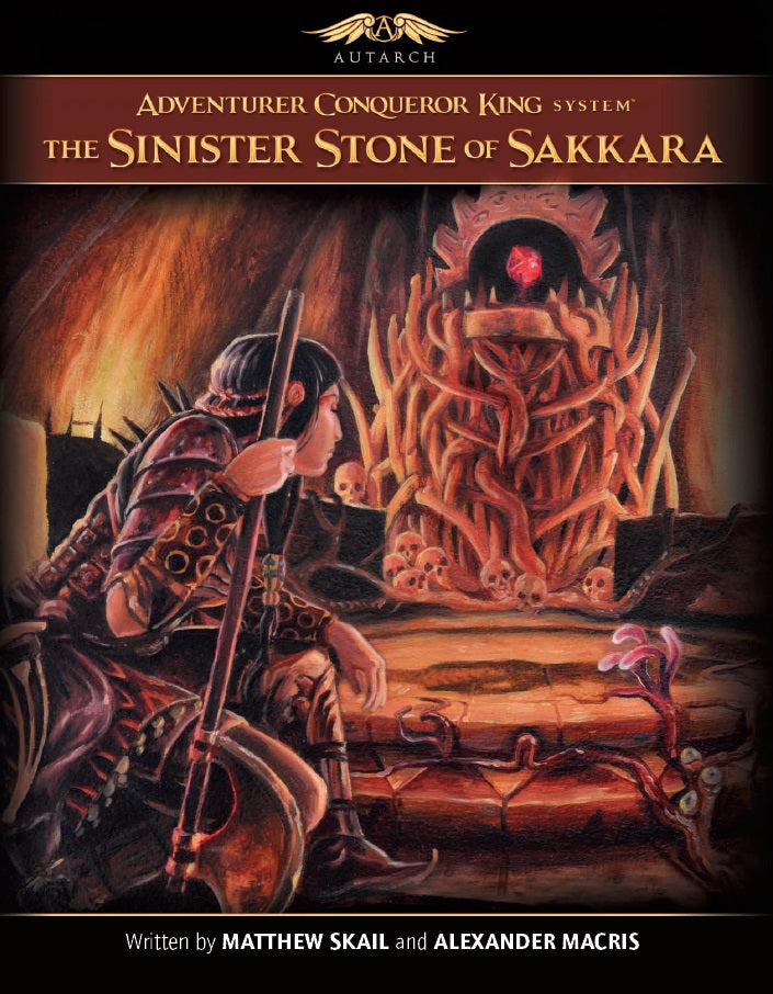 AX1 Sinister Stone of Sakkara (softcover)