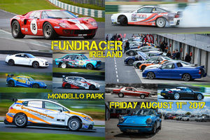 FUND-RACER Ireland Track Day: Mondello Park Friday 11th August. In Aid of The Jay & Ellie Foundation