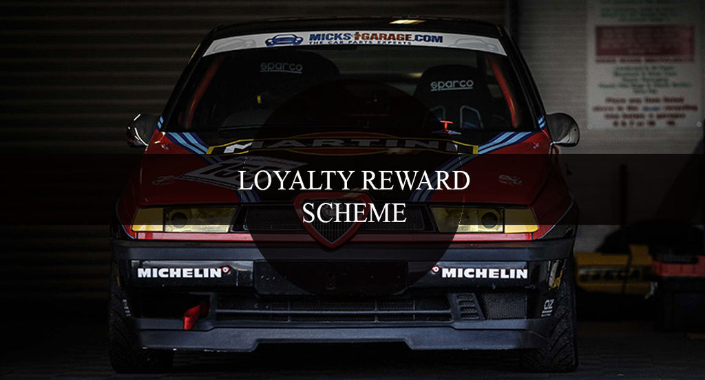 Trackdays.ie Loyalty Reward Scheme