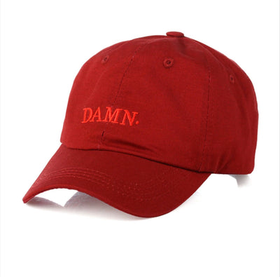 Damn Baseball Hip Hop Dad Hat - BRYCOS