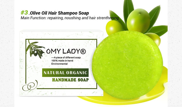 Natural Handmade Shampoo for Dry Hair - BRYCOS