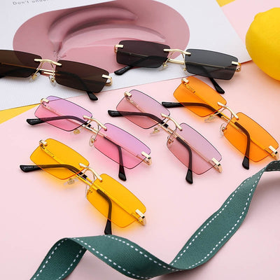 Small Rectangle Ladies Sunglasses - BRYCOS