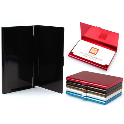 Metal Business Card Holder Wallet - BRYCOS