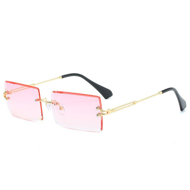 Rimless Square Sun Glasses For Man - BRYCOS