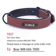 Soft Leather Dog Collars - BRYCOS