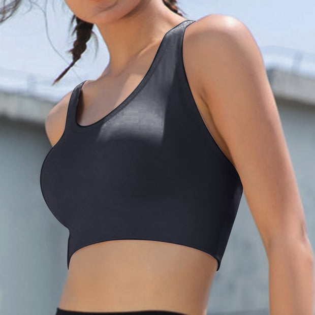 Push Up Crop Top Gym Bra - BRYCOS
