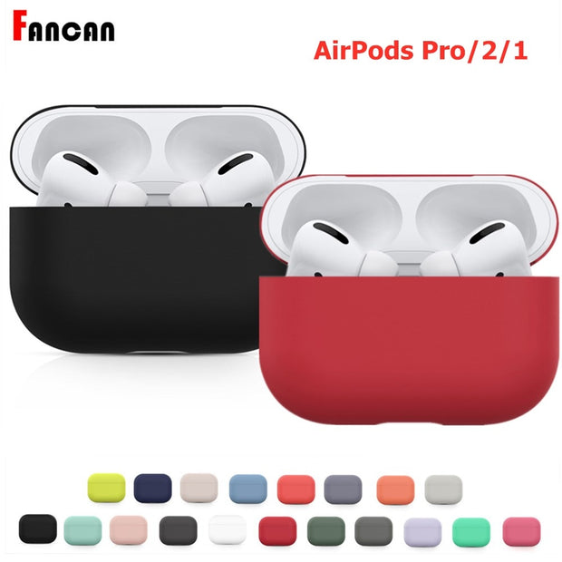 Silicone Cute Protector Case For Airpods Pro - BRYCOS