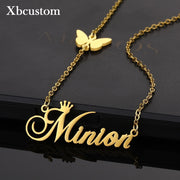 Customized Butterfly Necklace Pendant  for Women - BRYCOS
