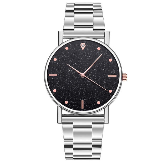 Stainless Steel Casual Bracelet Watch for Women - BRYCOS