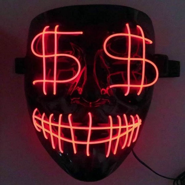 Purge Election LED Mask - BRYCOS