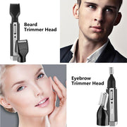 4 in1 Electric Ear Nose Hair Trimmer - BRYCOS