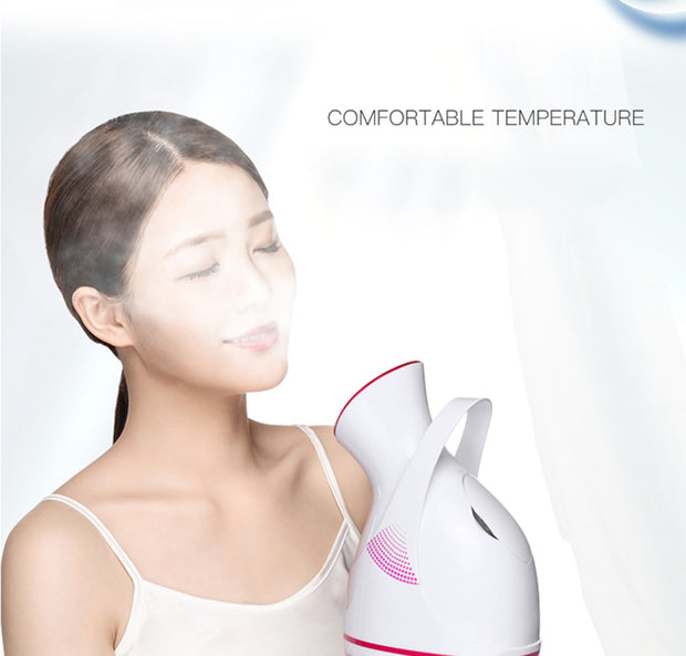 Facial steamer With Large-Capacity Water Tank - BRYCOS
