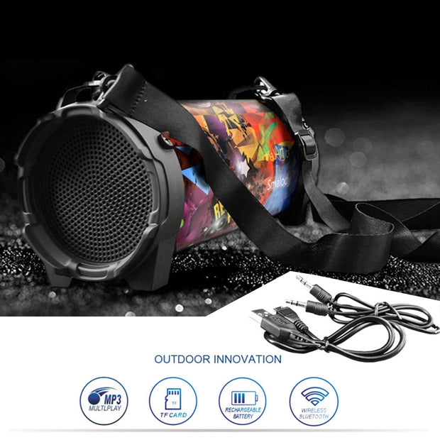 Portable Deep Bass Stereo Speaker - BRYCOS