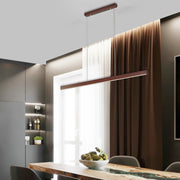 LED Wood Pendant Lights for Home Dining - BRYCOS