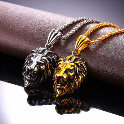 Lion Charms Necklace - BRYCOS