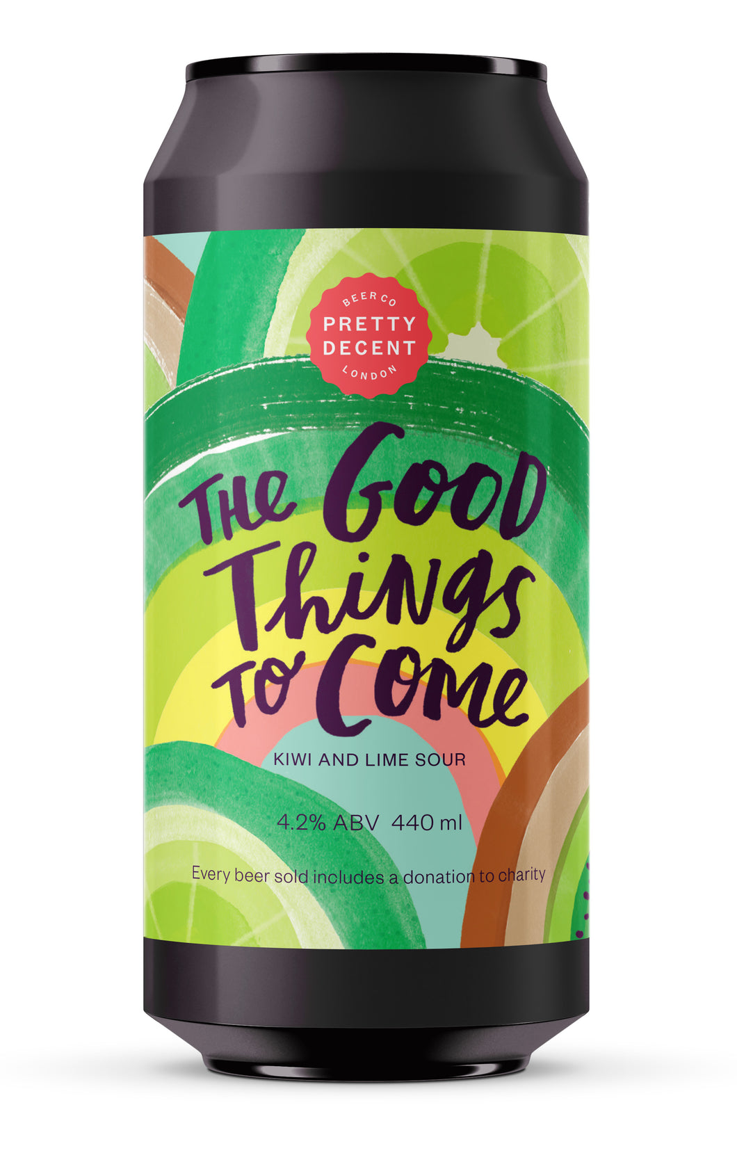 'The Good Things to Come' International Women's Day Collaboration Brew - Kiwi and Lime Sour (4.2%)