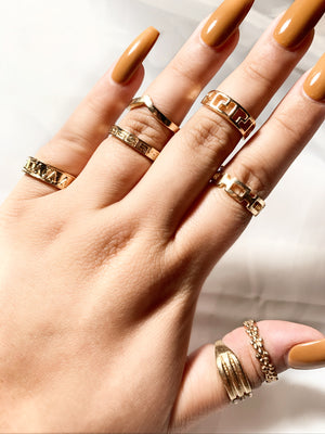 Kim Stackable Rings