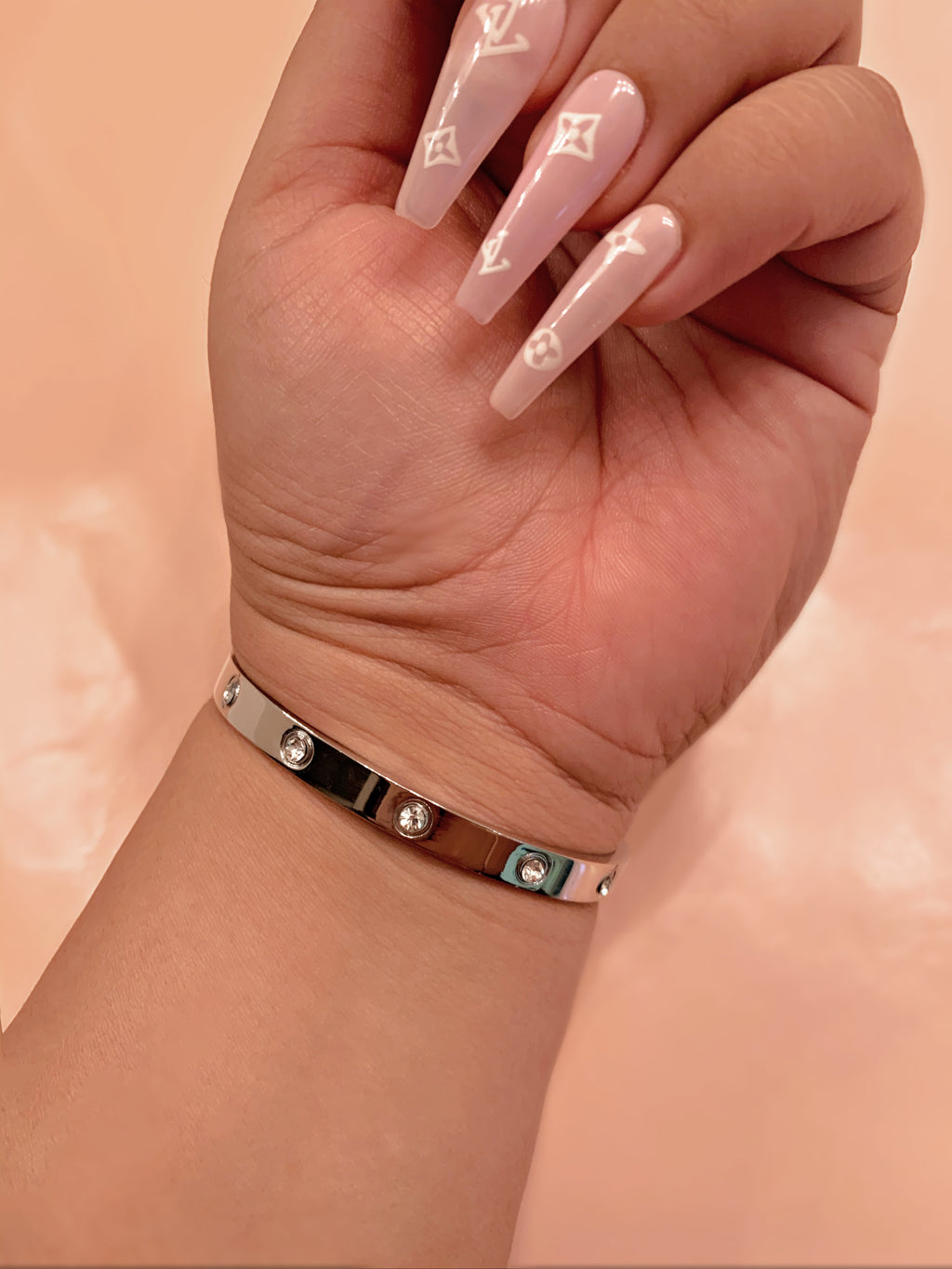 Silver Icy Lovers Bracelet