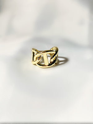 Gold CD Ring