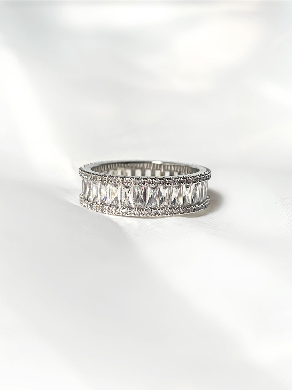 Silver Ice Ring