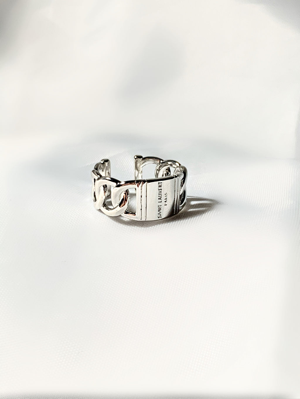 Silver Laurent Ring