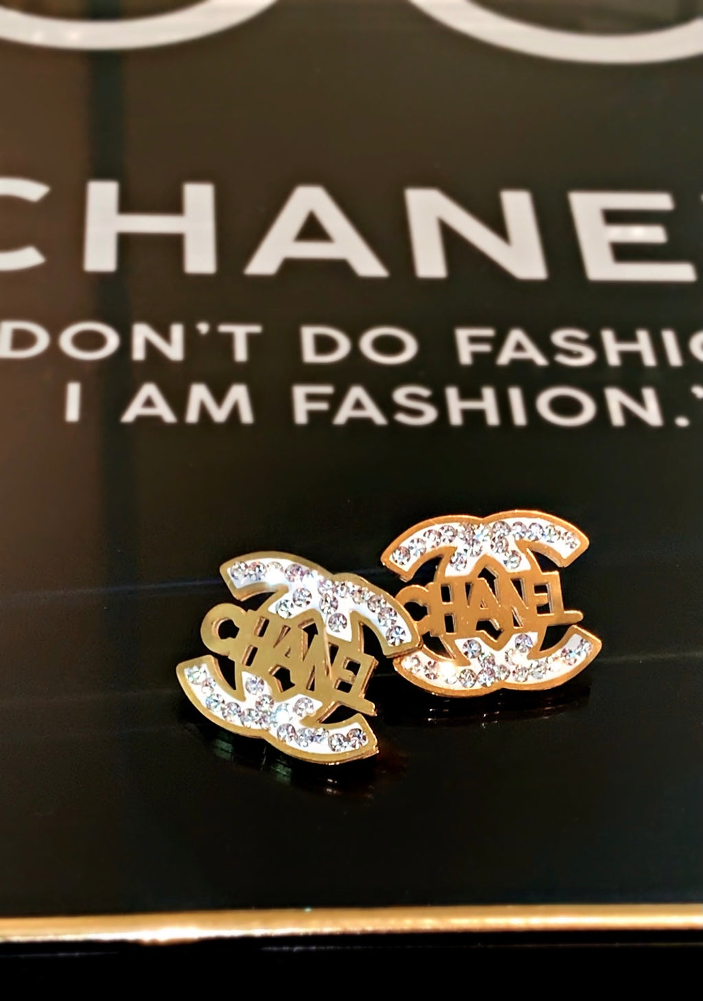 Double C Chanel Earrings
