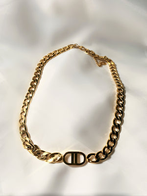 Gold CD Chain
