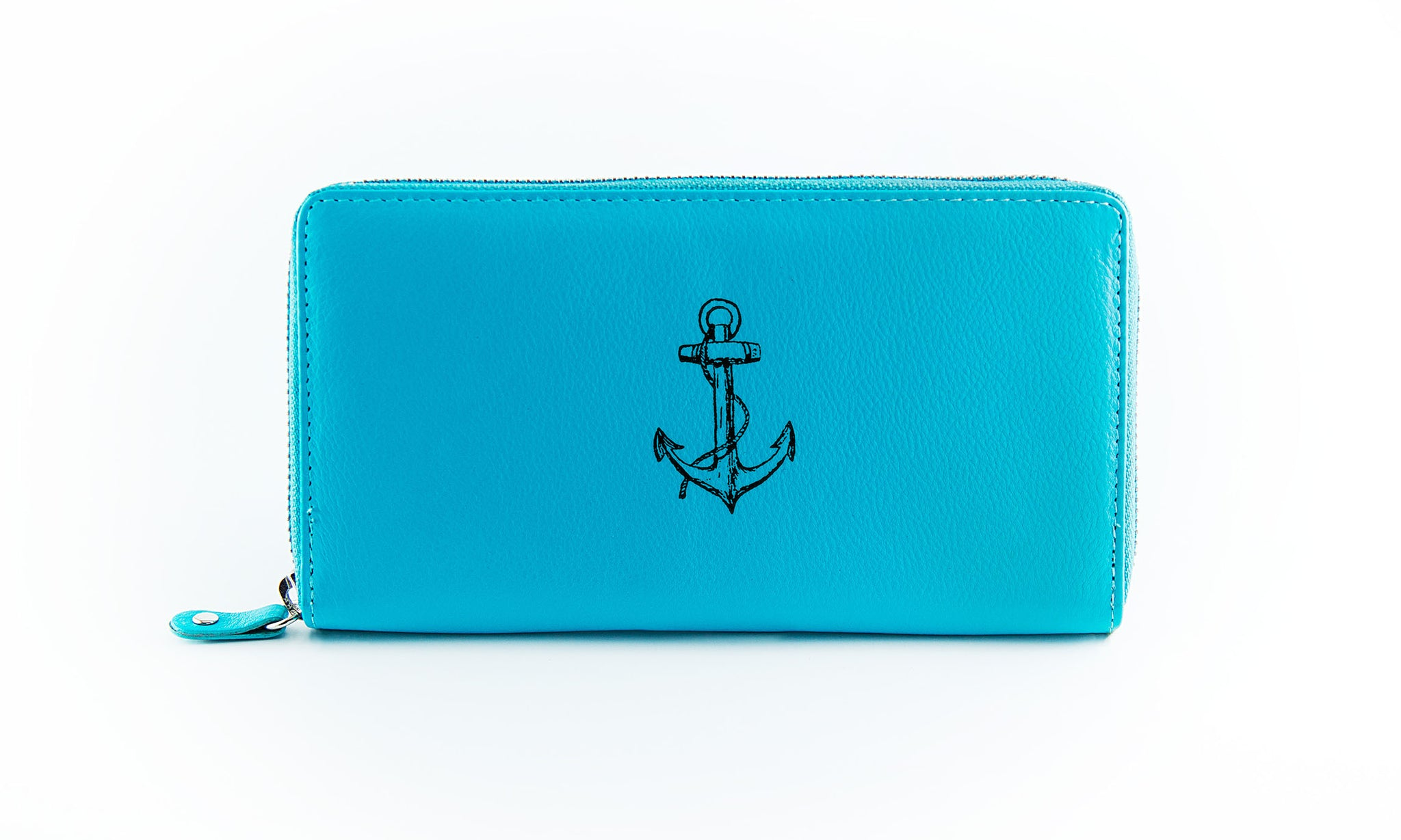 Clutch Aqua Anchor in Black Ink