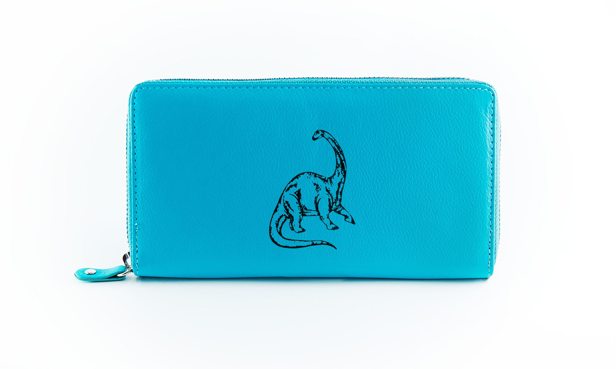 Clutch Aqua Brontosaurus in Black Ink