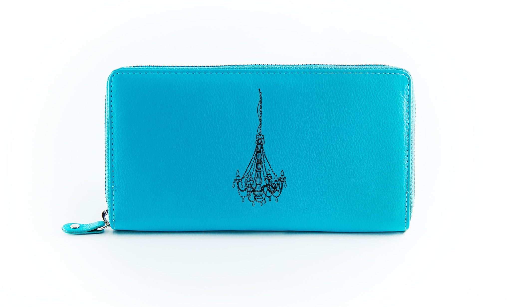 Clutch Aqua Chandelier in Black Ink