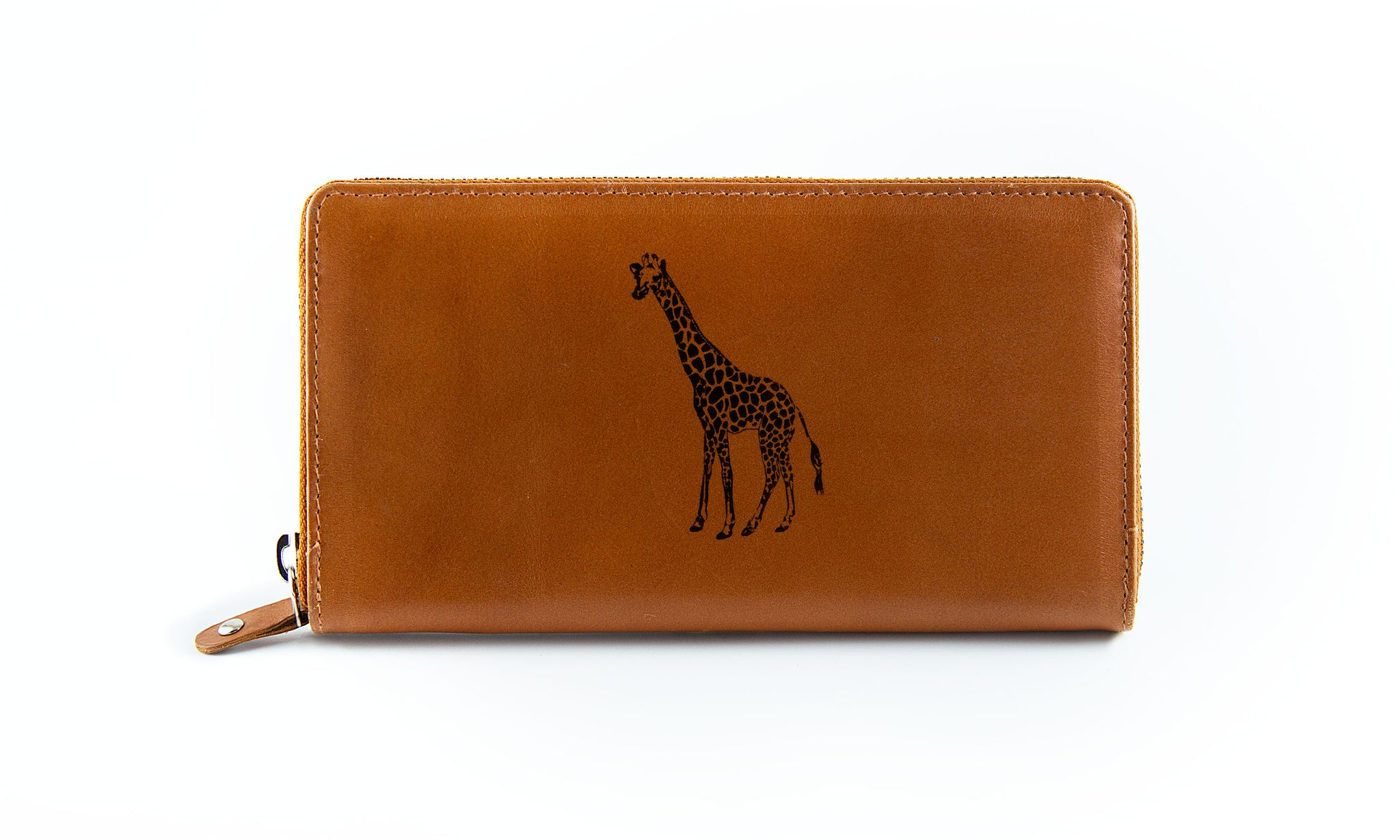 The Clutch - Camel (Black Print)