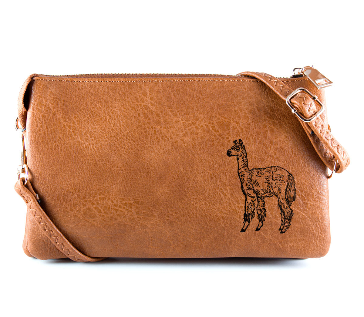 The Convertible - Camel (Black Print)