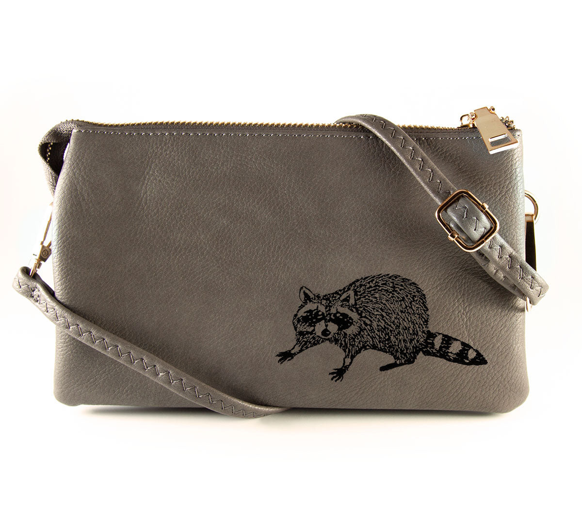 The Convertible - Grey (Black Print)