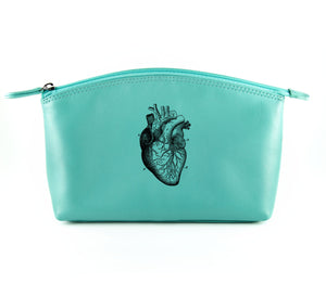 The Kiss and Makeup - Aqua (Black Print)